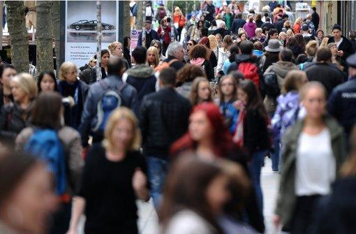 Die deutsche Bevölkerung wächst
