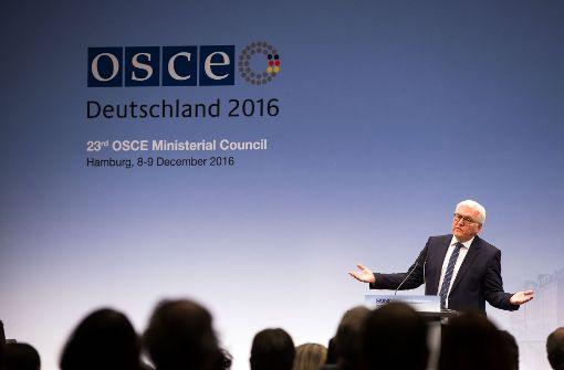 OSZE-Ministertreffen ohne Abschlusserklärung beendet