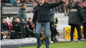 Trainer Christian Streich tobt nach Video-Platzverweis