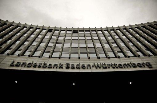 Der Stuttgart-21-Baugrube sehr nahe: Zentrale der Landesbank Foto: Leif Piechowski