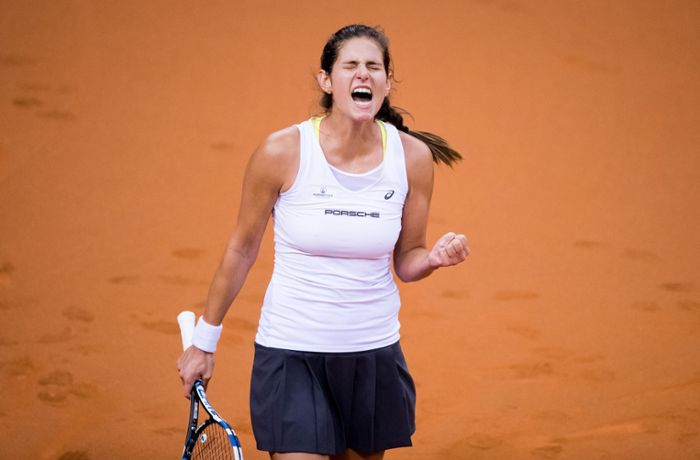 Tennis in Stuttgart: Görges rettet Fed-Cup-Team vor Abstieg