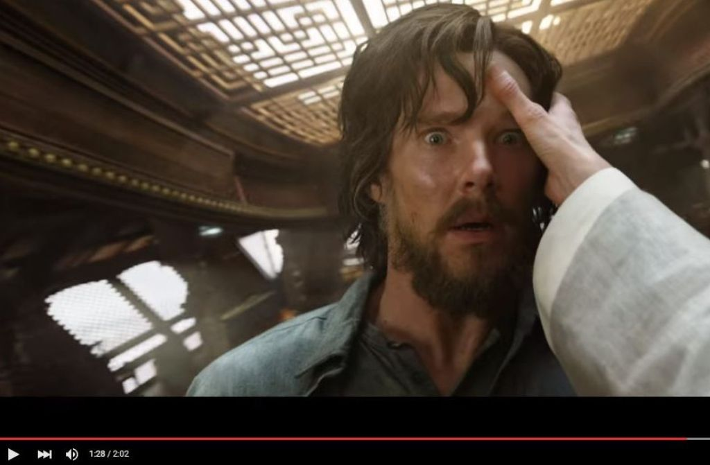 Benedict Cumberbatch spielt die Hauptrolle in Marvels Doctor Strange. Foto: Screenshot/Youtube Marvel Entertainment
