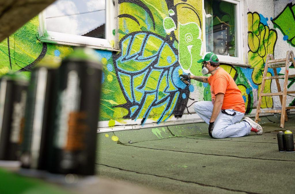 graffiti aktion in schorndorf graffiti definition und geschichte rems murr kreis. Black Bedroom Furniture Sets. Home Design Ideas