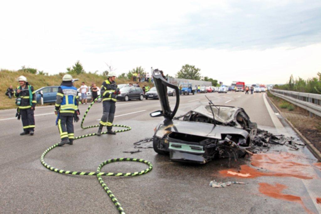 A57 Unfall Gestern