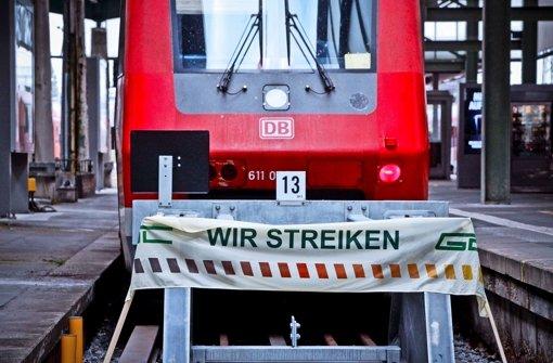 Bahnstreik Die Wichtigsten Fakten Fur Reisende Stuttgart Stuttgarter Nachrichten