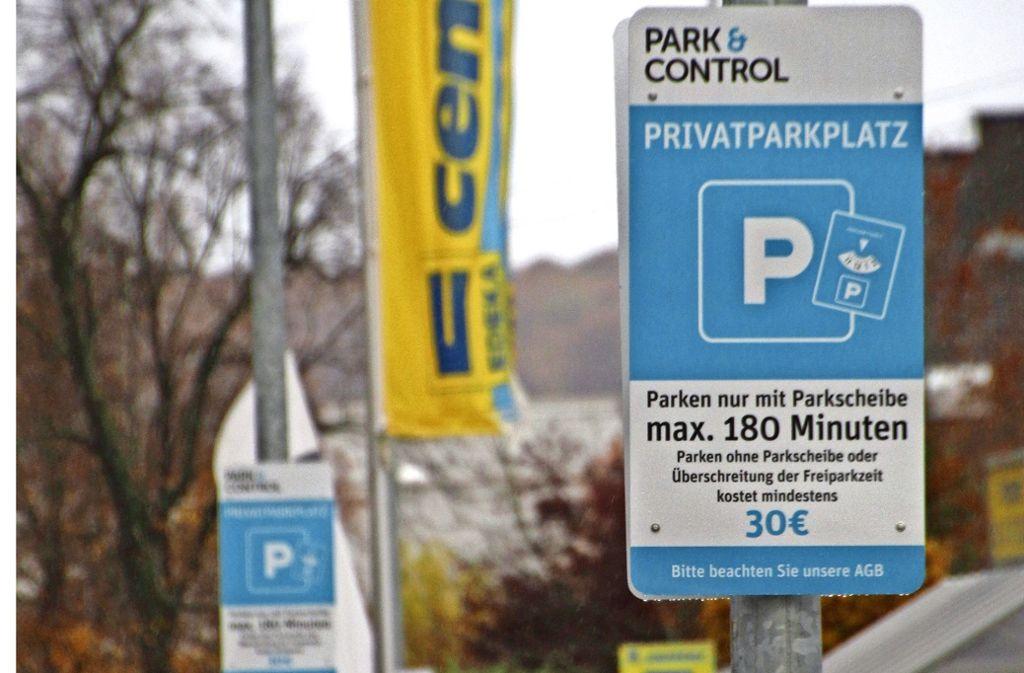 Parkscheiben Pflicht In Leinfelden Kunden überrascht Von Mahnungen
