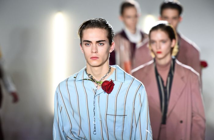 Men's Fashion Week Paris: Stars und andere Paradiesvögel