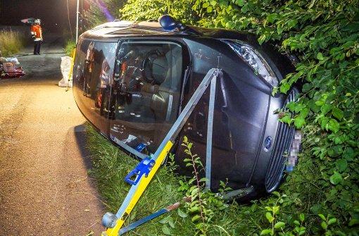 Unfallfahrer muss wiederbelebt werden