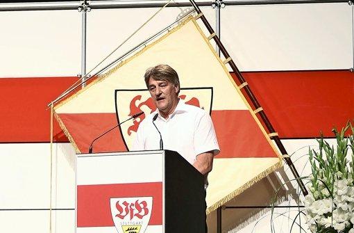 Für VfB-Präsident Wahler ist die Ausgründung der Profi-Abteilung alternativlos Foto: Pressefoto Baumann