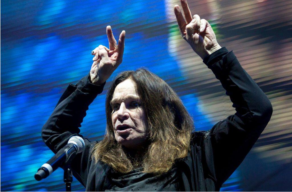 "Hardrock-Ikone Ozzy Osbourne: Zugedröhnter ""Prinz der ..."