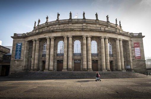 Muss saniert werden: Opernhaus Stuttgart Foto: Leif Piechowski