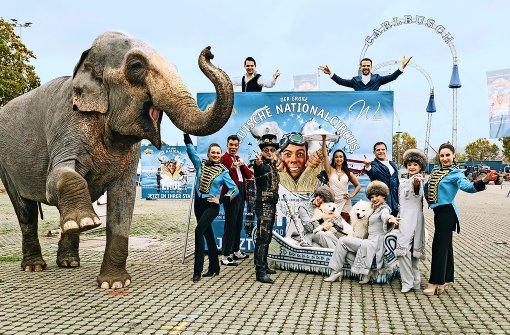 Zirkuspremiere nach Tierschutzdebatte