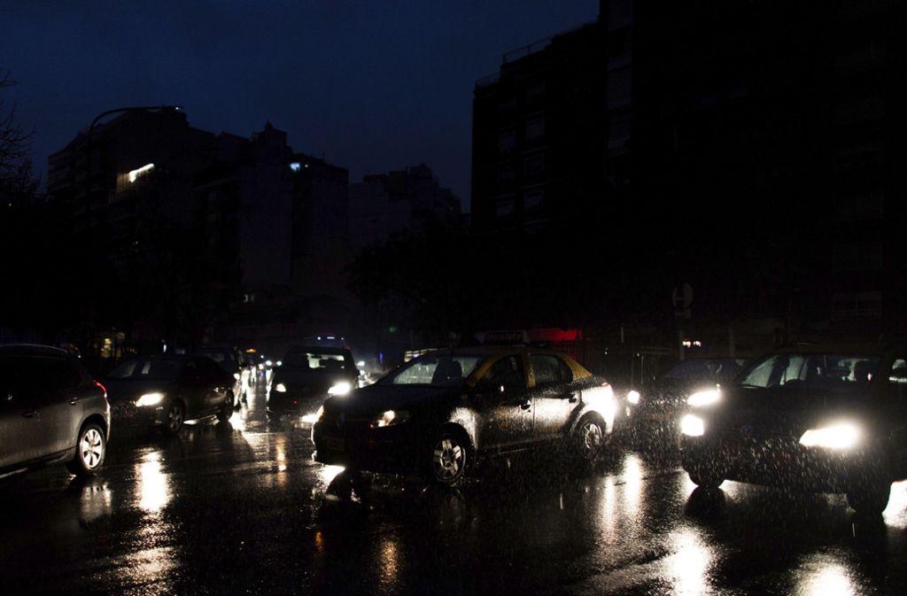 Argentinien Stromausfall