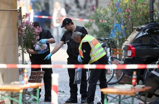 Verdacht auf IS-Mitgliedschaft des Ansbach-Täters