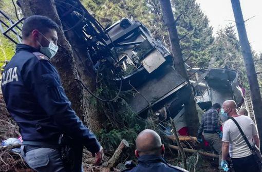 Mehrere Tote bei Seilbahn-Unglück in Italien