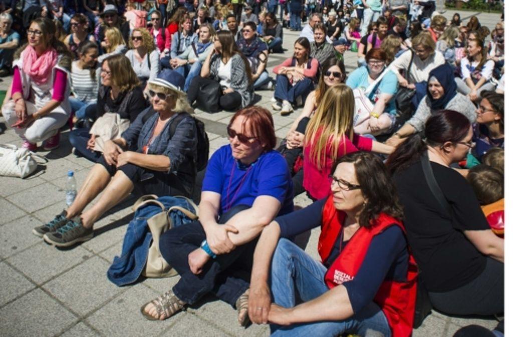 Kita Streik Stuttgart