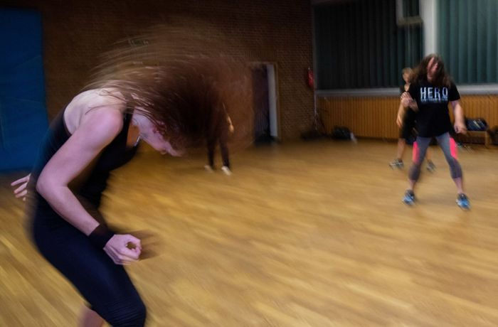 Metalza in Ludwigsburg: Fit mit dem Heavy-Metal-Workout