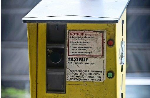 Darum baut die Stadt die Taxi-Säulen ab