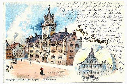 Alte Ansichts-Schätze aus Stuttgart