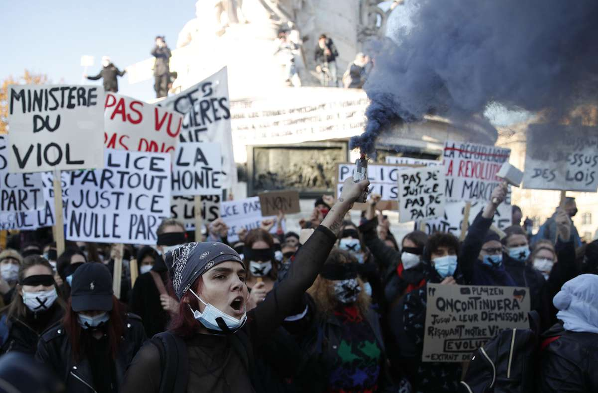Frankreich Proteste
