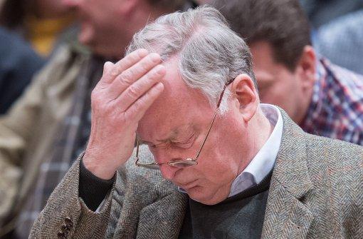 Gauland kritisiert Petry wegen missglückten Treffens mit Muslimen