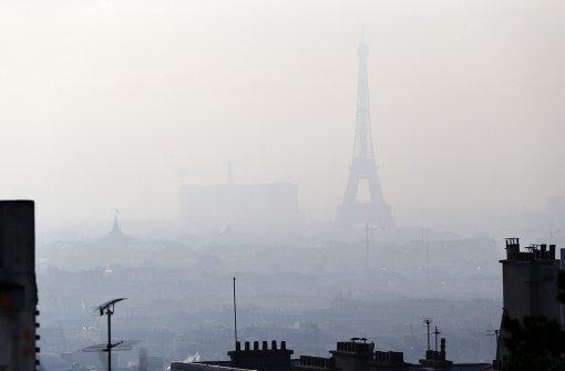 Paris sperrt alte Autos aus