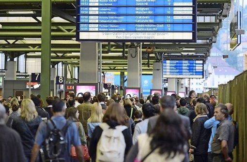 Störungen bei Stadtbahn oder S-Bahn  haben  meist Foto: 7aktuell.de/Eyb