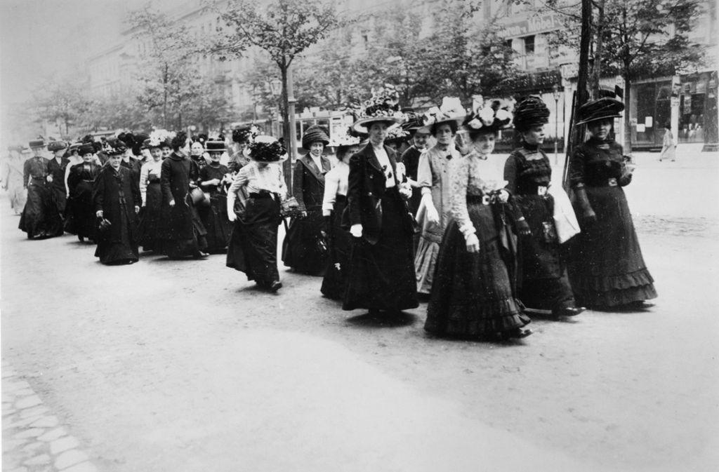 100 Jahre Frauenwahlrecht: Keine Angst vor Frauen in der ...