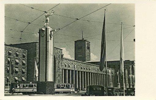 Bahnhof zum Turnfest 1933 Foto: Sammlung Udo Becker