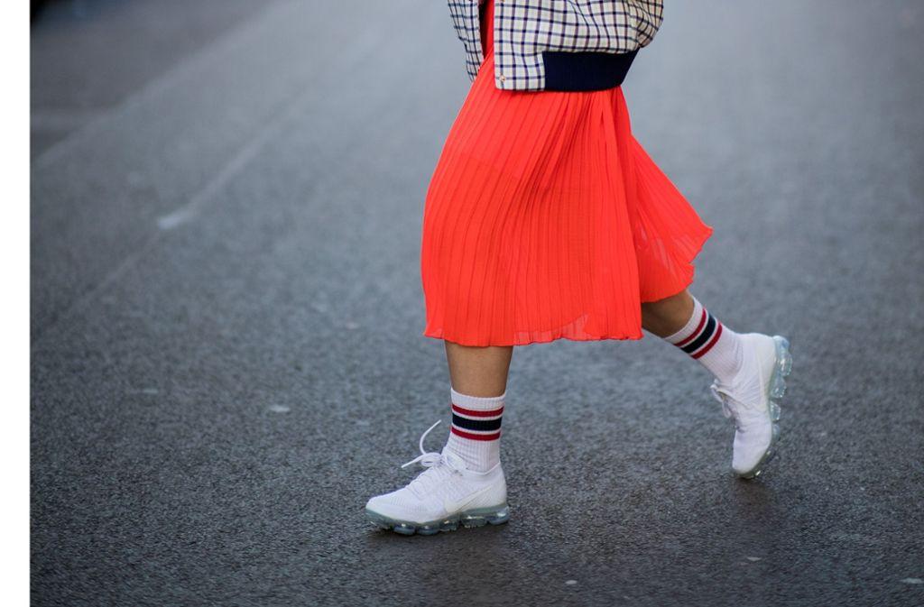 Modetrend Sneaker: Sneaker: Die gehen nie mehr weg