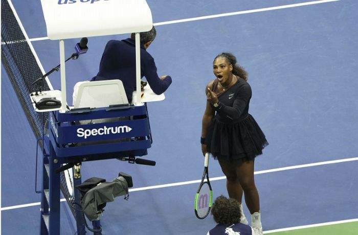 US Open in New York: Serena Williams wirft Schiedsrichter Ramos Sexismus vor