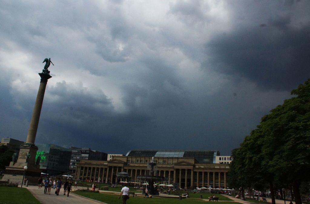 Stuttgart Unwetter