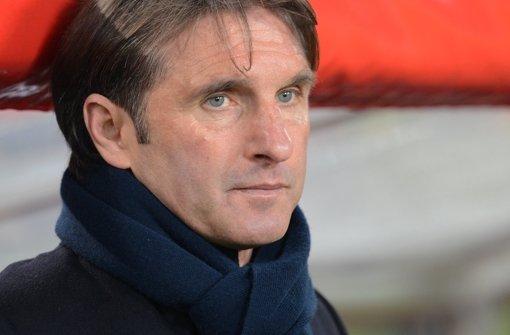VfB-Trainer Bruno Labbadia. Foto: dpa