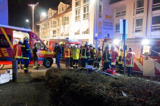 Bei einem Brand am Sonntag musste ein Seniorenheim in Leonberg teilweise geräumt werden. Foto: www.7aktuell.de | Christoph Ziegler