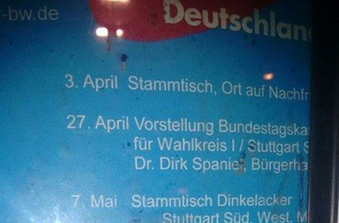 Fake-News in Stuttgart: Dinkelacker erwägt Klage