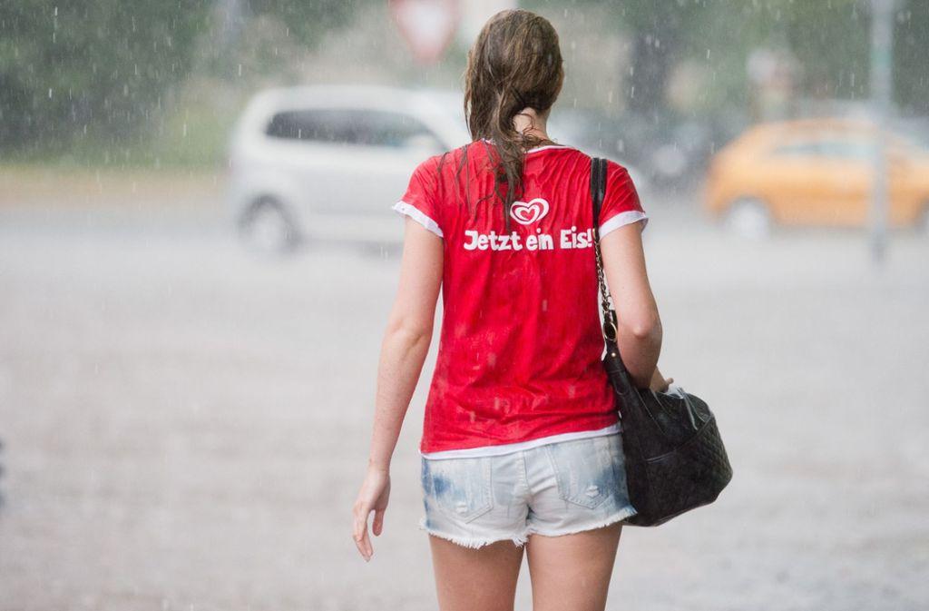 Wetterdienst erwartet Unwetter am Freitag