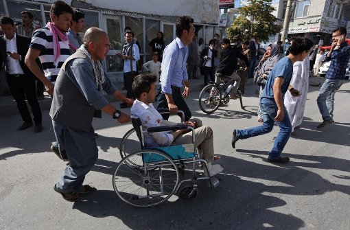 Dutzende Tote und Verletzte nach Explosion bei Demonstration