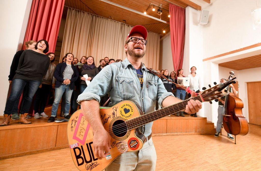 Abgefahrenes Projekt Von Filmfans In München Ein Chor Für Die