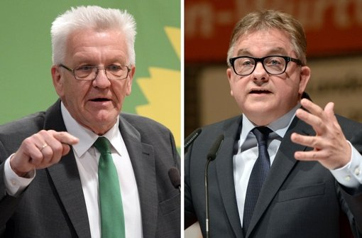 Koalitionsverhandlungen mit den Grünen? Die Initiative der Stuttgarter CDU für einen Mitgliederentscheid ist in der Partei positiv aufgenommen worden. Foto: dpa