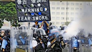 Massenprotest in Hongkong eskaliert