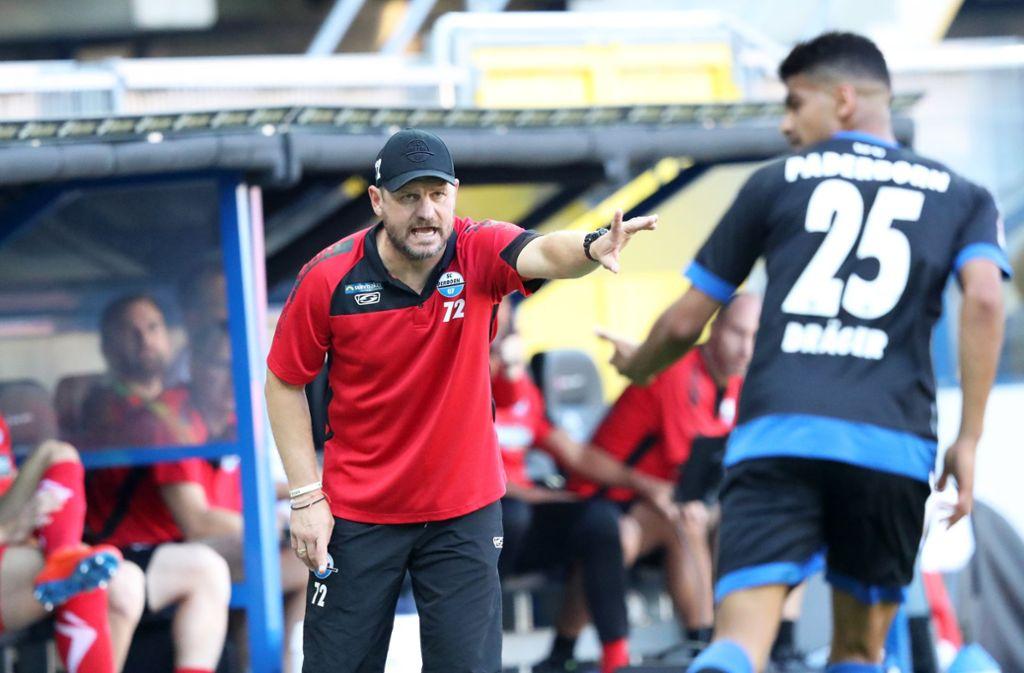 Gelbe Karte Lustig.Steffen Baumgart Vom Sc Paderborn Erster Bundesliga Trainer Sieht