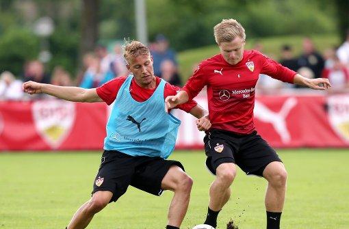 So schwitzt der VfB für die zweite Liga
