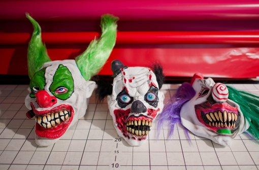 Große Warenhäuser verkaufen keine Horror-Clown-Masken mehr