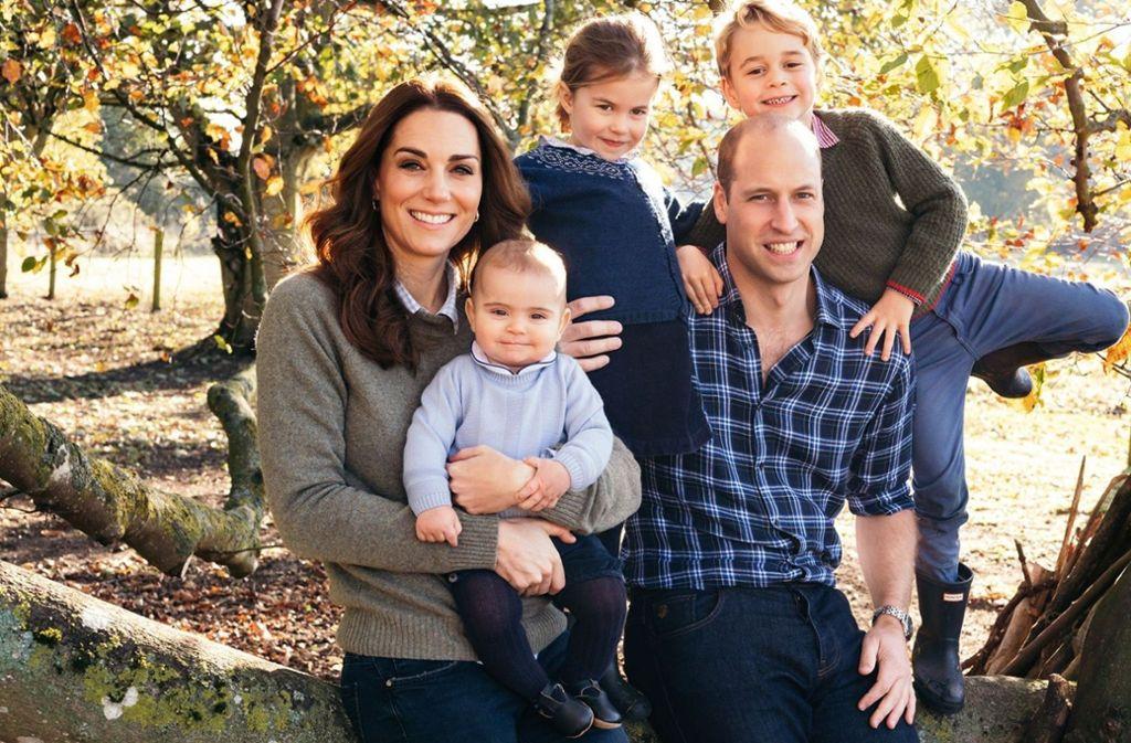 Kinder Von Kate Und William