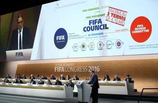 Beim Fifa-Kongress in Zürich wurde ein umfassendes Reformpaket verabschiedet. Foto: Getty Images Europe