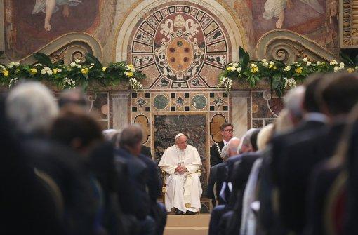 Franziskus fordert neuen Humanismus