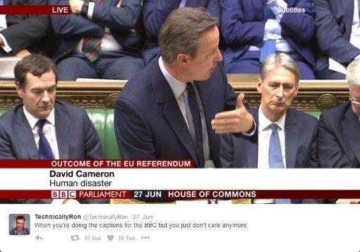 So lästert die BBC über englische Politiker