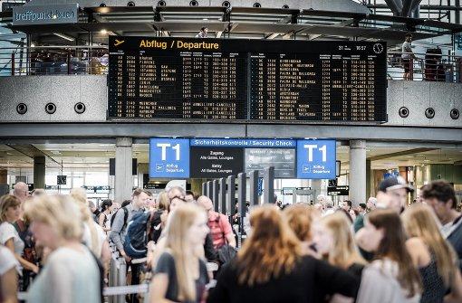 Fahndungssystem Inpol auch an Flughäfen im Südwesten ausgefallen