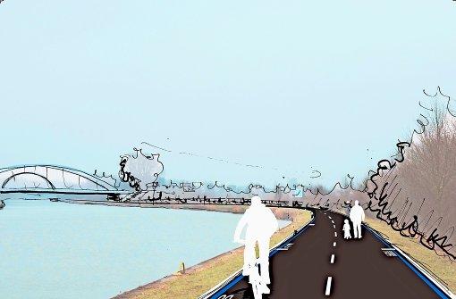 Eine Autobahn für Rad-Pendler