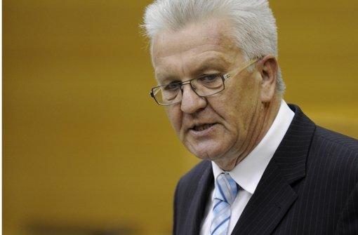 Winfried Kretschmann. Foto: dapd